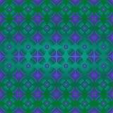 Цветки обоев фиолетовые на зеленой предпосылке безшовной Стоковые Изображения RF