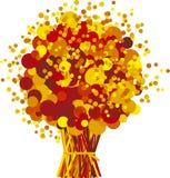 цветки падения иллюстрация вектора