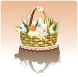 цветки пасхи корзины бесплатная иллюстрация