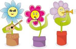 Цветки петь Стоковое фото RF