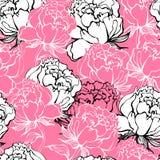 цветки предпосылки подняли Стоковое Изображение