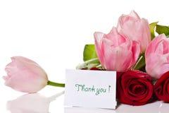 Цветки признательно стоковые изображения rf
