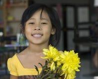 цветки ребенка стоковое изображение