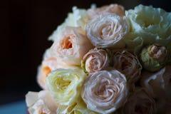 Цветки, розы, красивый букет Стоковые Фотографии RF