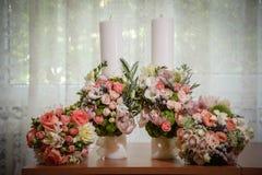 Цветки свадебной церемонии стоковая фотография rf