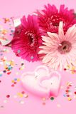цветки свечки Стоковая Фотография RF