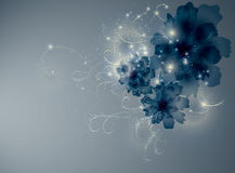 Цветки сини сапфира Стоковые Фото