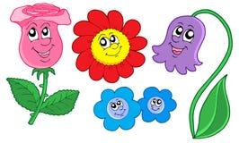 цветки собрания милые Стоковые Фотографии RF