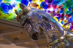 Цветки стекла Bellagio Стоковая Фотография