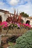 цветки тележки Стоковая Фотография