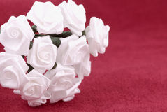 цветки ткани Стоковое Фото