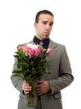 цветки укомплектовывают личным составом унылое Стоковое фото RF