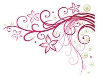 Цветки, флористический элемент Стоковые Изображения RF