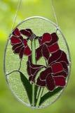 Цветки цветного стекла Стоковые Изображения