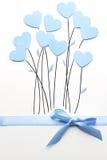 цветки чертежа изолировали реальную белизну Валентайн Стоковое Изображение