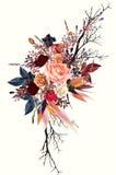 Цветки для спасения карточки даты или дизайн свадьбы Стоковая Фотография RF
