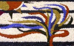 цветки 1 абстрактные предпосылки Стоковые Изображения
