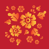 цветки иллюстрация вектора
