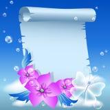цветки parchmen бесплатная иллюстрация