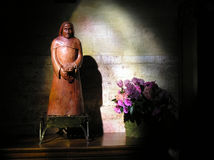 Цветки St Pierre du Montmatre Статуи Стоковые Фотографии RF