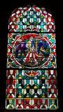 Цветное стекло Стоковое Фото