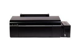 Цветной принтер изолированный на белой предпосылке Стоковое фото RF