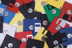 цветные диски Стоковое Фото