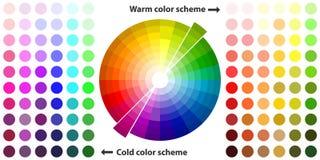 Цветовая гамма бесплатная иллюстрация