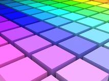 цветовое пространство Стоковые Изображения RF
