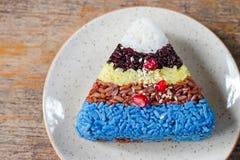 5 цветов риса Стоковые Фотографии RF