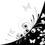цветок бабочки Иллюстрация вектора