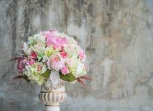 Цветок букета в вазе Стоковое фото RF