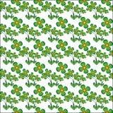 Цветок вектора картины безшовный Стоковое Изображение