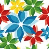 Цветок вектора картины безшовный Стоковые Фотографии RF