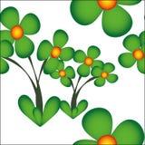 Цветок вектора картины безшовный Стоковые Изображения