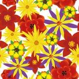 Цветок вектора картины безшовный Стоковое фото RF