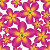 Цветок вектора картины безшовный Стоковое Изображение RF