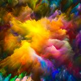 Цветок виртуального холста Стоковое Фото