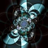 цветок высокотехнологичный Стоковые Изображения
