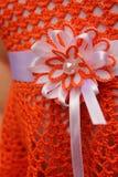 Цветок вязания крючком Стоковое Изображение