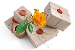 Цветок в вазе Стоковое фото RF