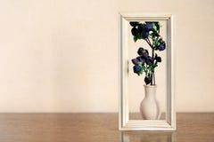 Цветок в рамке Стоковое Изображение