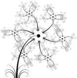 цветок в стиле фанк Стоковая Фотография