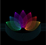 Цветок геометрии Стоковая Фотография RF