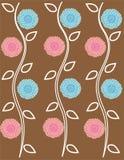 Цветок год сбора винограда предпосылки иллюстрация штока