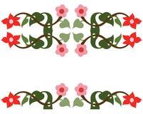 цветок граници Стоковая Фотография RF