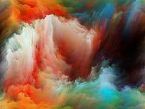 Цветок движения цвета стоковые изображения rf