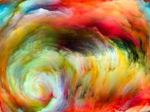 Цветок движения цвета стоковая фотография rf
