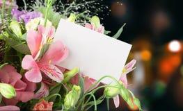 цветок дня дает матям сынка мумии к Стоковое фото RF
