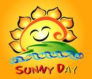 цветок дня солнечный Стоковые Изображения